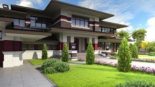 Индивидуальный проект загородного дома – 560 кв.м