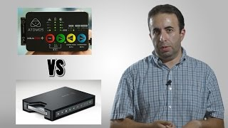 Atomos Ninja Star vs Blackmagic Design HyperDeck Shuttle Part 2