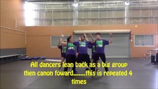 Bangarang by Skrillex - Hip Hop Choreography Tutorial for Perth City Flash Mob with Urban Youth Crew