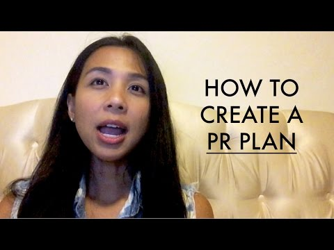How To Create A PR Plan