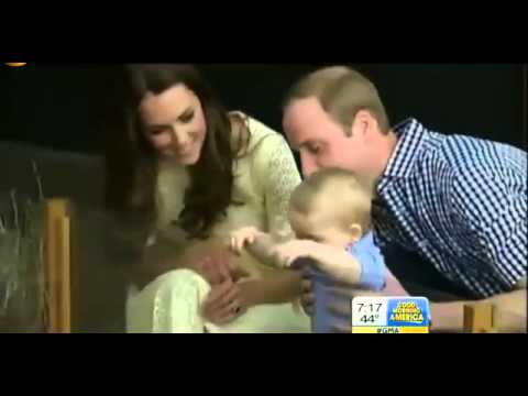 prince-george-easter-at-australian-zoo-footage