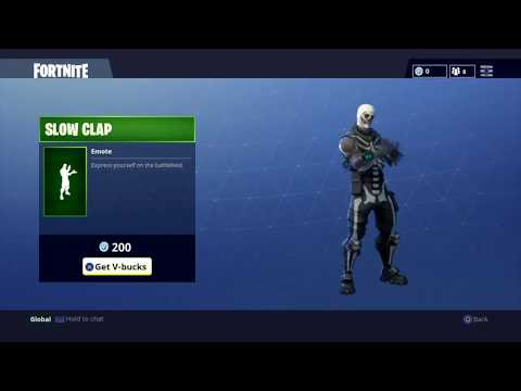 Fortnite Slow Clap Emote - Pro Game Guides