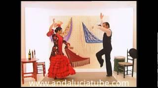 Aprenda a bailar sevillanas. Baile completo.