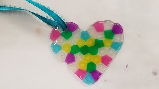 Easy DIY Melted Bead Christmas Ornaments