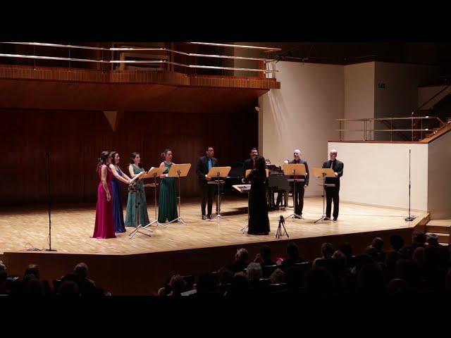 Amor, no me dexes, S.  Bacarisse. Ensemble Vocal Mirtos. Dir.: Nuria Fernández Herranz.