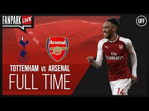 Tottenham 1 - 0 arsenal - full time phone in - fanpark live
