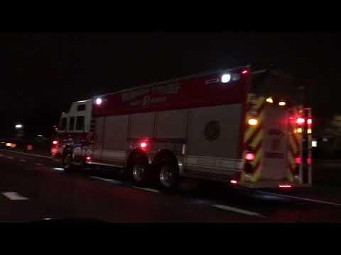WASHINGTON TOWNSHIP FIRE DEPARTMENT RESPONDING TO SMOKE CONDITION IN SUPERMARKET IN OHIO.
