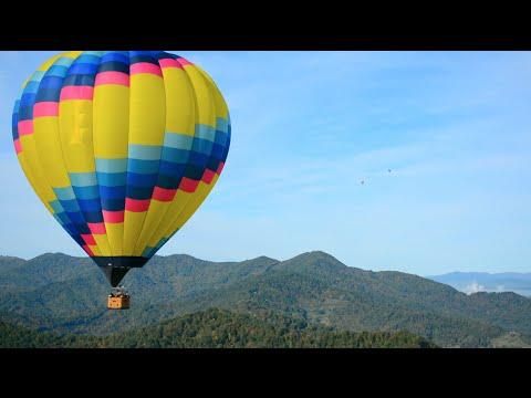 EPIC Hot Air Balloon Ride Asheville NC 1080 HD 24p (Video) 2014 ...