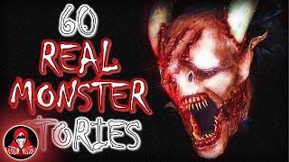 60 TRUE Stories of Real Monsters | Bigfoot, Werewolves, Aliens and More - Darkness Prevails