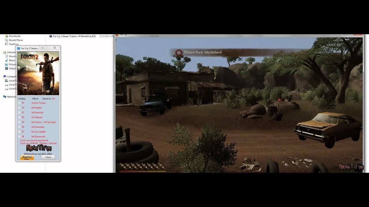 Far cry 2 save game problem sports gambling paypal
