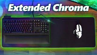 Razer Goliathus Extended Chroma Mouse Pad Review!