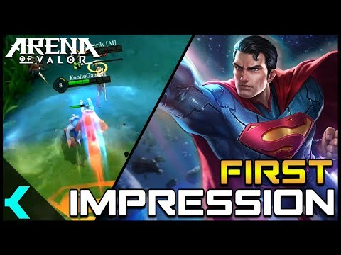 Superman First Impressions | NOT WHAT I EXPECTED | Arena of Valor