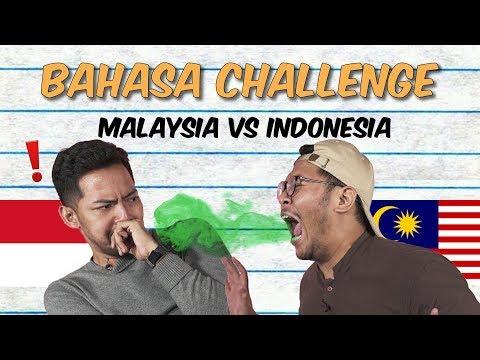 Malaysia vs Indonesia: Bahasa Challenge #WeAreBackAgain