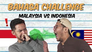 Malaysia vs Indonesia: Bahasa Challenge #WeAreBackAgain