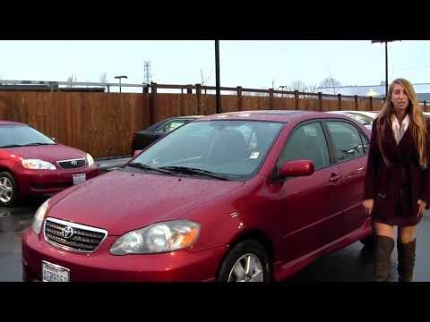 Virtual Walk Around Video of a 2005 Toyota Corolla S at Titus Will Toyota in Tacoma, WA t32540b