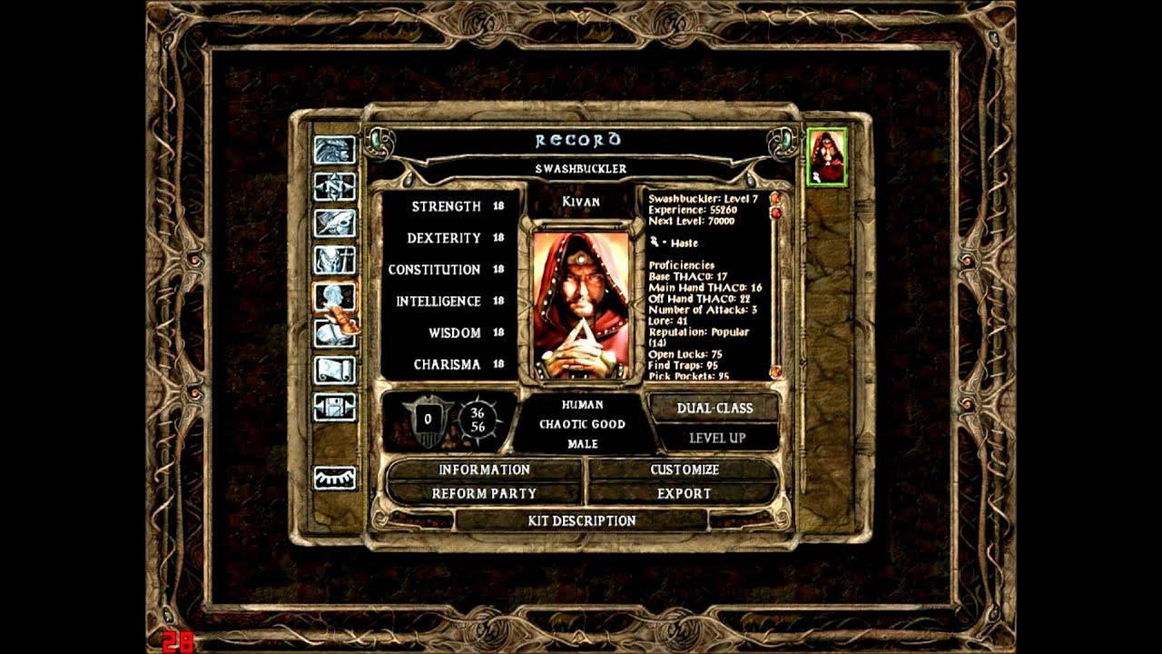 ostaa halvalla herkät värit tulokas Baldurs Gate Solo - Thief gameplay