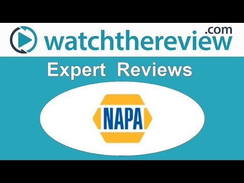 Napa Auto Parts Online Review - Online Auto Parts