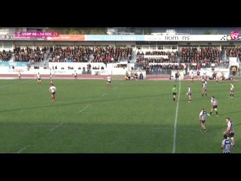 Rugby Fédérale 1 USRP vs SOC