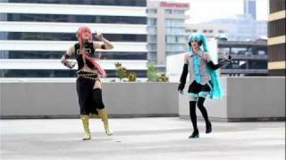 [Luka & Miku] Happy Synthesizer Dance ver. (ハッピーシンセサイザ)