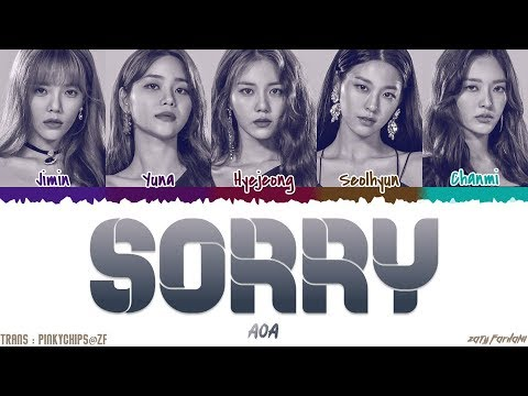 AOA - 'SORRY' [QUEENDOM FINAL] Lyrics [Color Coded_Han_Rom_Eng]