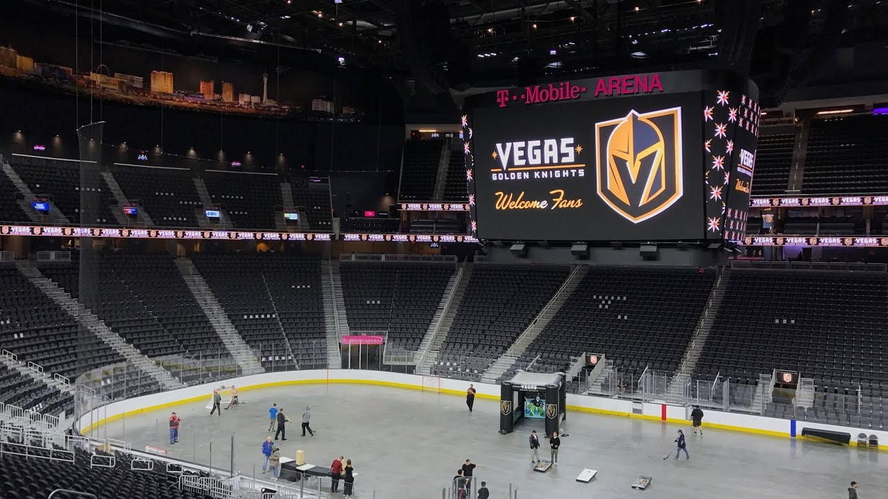 Vegas Golden Knights- Inside The T Mobile Arena Tour