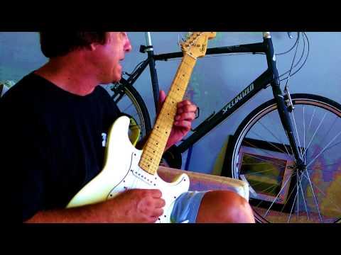 Hard Rock Mermaids Guitar Lesson, Part 2/DL8 Delay Looper Pedal And Peavey Amp.