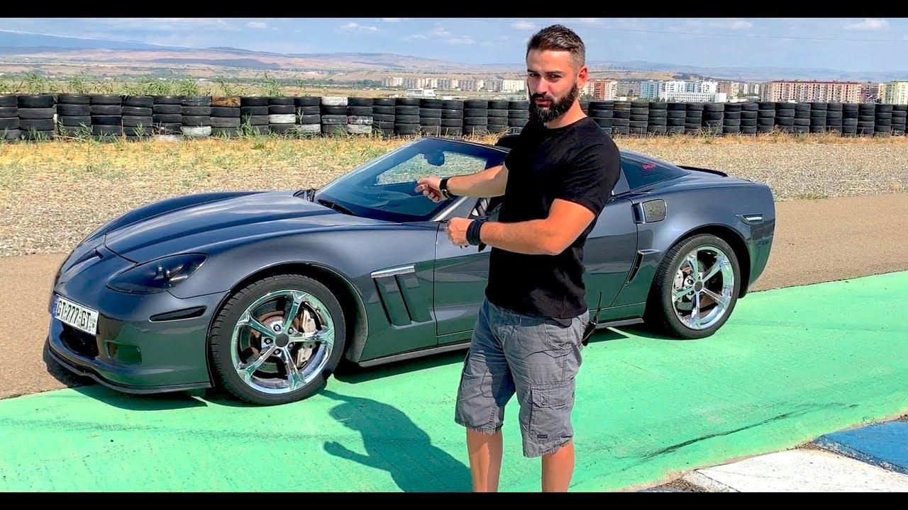 უხეში ტესტ დრაივი  Chevy Corvette 62 SuperCharger  700 ცხენის ძალა 1 000 ნიუტონი