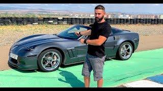 უხეში ტესტ დრაივი - Chevy Corvette 6.2 SuperCharger - 700 ცხენის ძალა, 1 000 ნიუტონი!!!