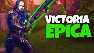 VICTORIA EPICA CON 8 KILLS (Fortnite Battle Royale)