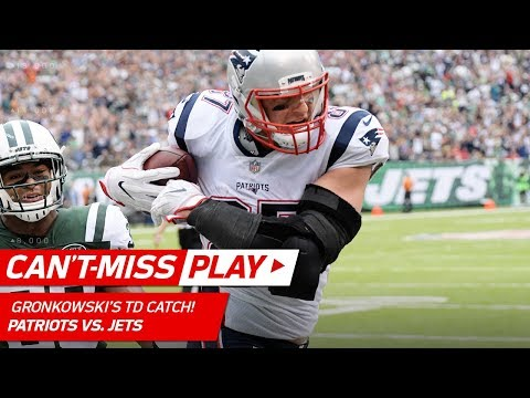 Butler's Clutch INT Leads to Brady's Big TD Toss to Gronkowski! | Can't-Miss Play | NFL Wk 6