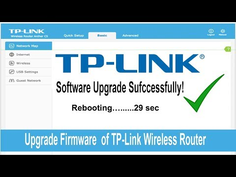 Upgrade Firmware of TP Link Wireless Router - YouTube