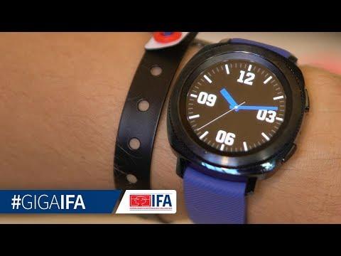 Samsung Gear Sport im Hands-On (deutsch): Ist das die beste Smartwatch? - GIGA.DE