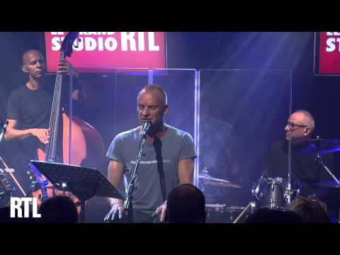 Sting - Dead Man's Boots en live dans le Grand Studio RTL - RTL - RTL