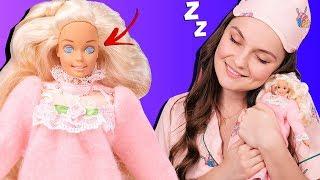 Что с ее глазами?😱 Проверяю спящий механизм Bedtime Barbie 1993, обзор и распаковка