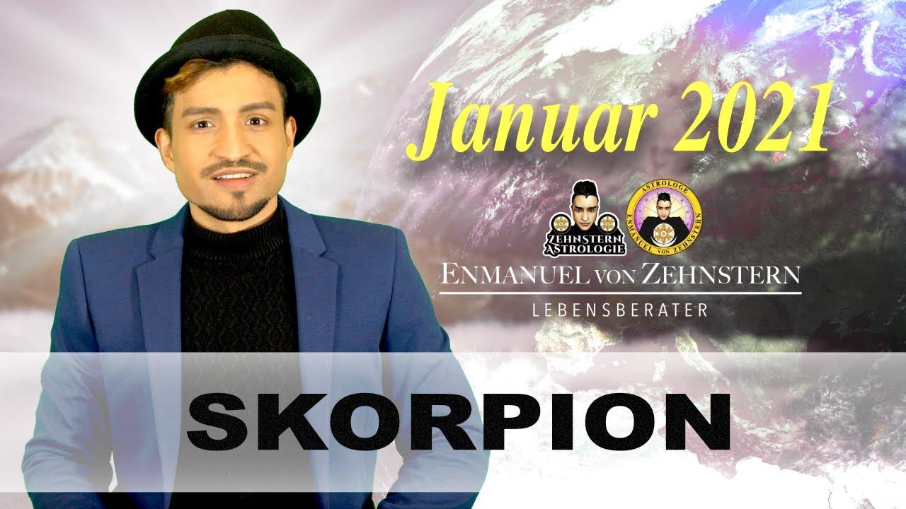 SKORPION MONATSHOROSKOP JANUAR 2021