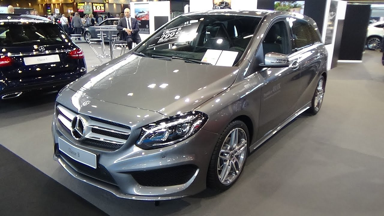 Mercedes B Klasse 2018 Interieur 2018 Mercedes Benz B 200d Sport Edition Exterior And Interior Salon Automobile Lyon 2017