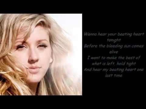 Beating heart - Ellie Goulding lyrics