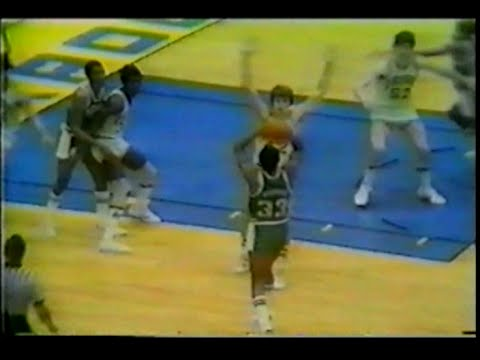Magic Johnson 19pts13asts vs. Notre Dame 1979 NCAA Tournament