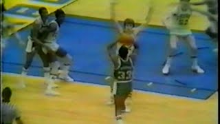 Magic Johnson (19pts/13asts) vs. Notre Dame (1979 NCAA Tournament)