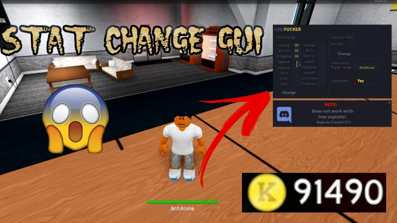 Rb World 2 Gui Stat Change Aimbot And Way More By Samuel