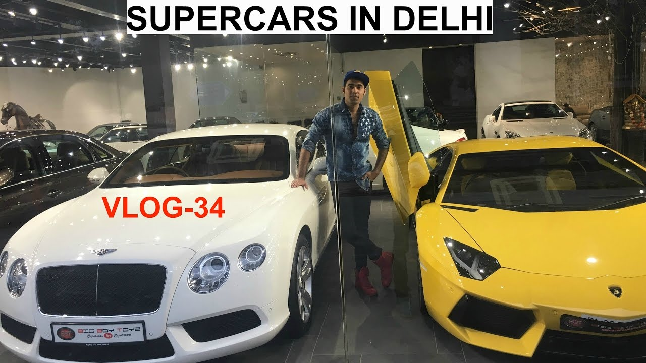 Luxury Cars Showroom In India