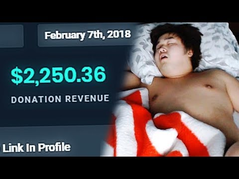 HOW I MADE $2,000 WHILE SLEEPING LIVE - Sleeping with Text to Speech