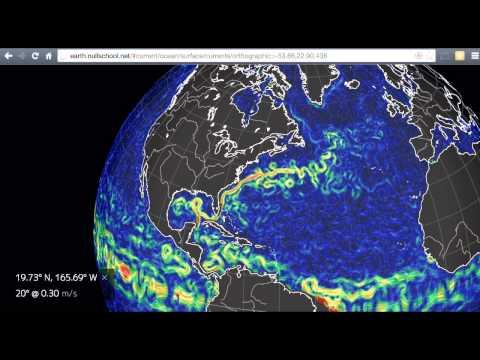 Earth.nullschool Ocean Currents
