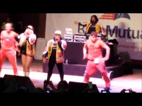Hip Hop legends Salt N Pepa Live in concert