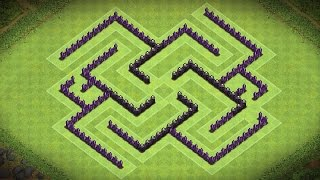 Clash Of Clans - Epic Town Hall 7 Trophy Base (catalyst) - Speed Build 2014
