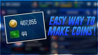 HOW TO GET COINS IN MADDEN MOBILE 18! EASY METHOD TO GET FAST COINS!