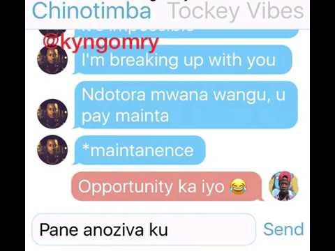 Leaked Zim Celebrity Group Chat ft Olinda, Ammara, Ruheneko,Stunner,TrevorD etc