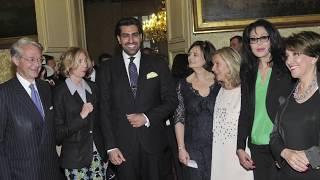خطاب الامير سلمان بن عبدالعزيز آل سعود فى مجلس الشيوخ الفرنسي
