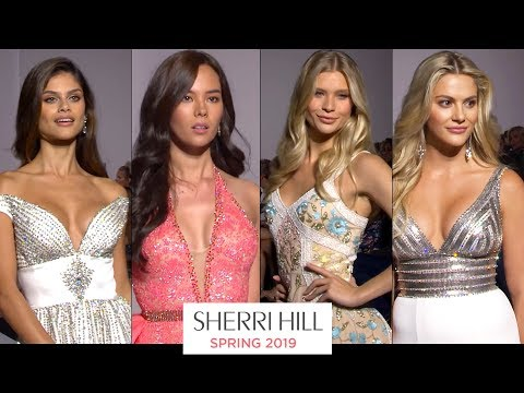 Sherri Hill Spring 2019 Dresses - Runway Show NY Fashion Week