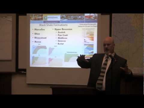 Scott Perry (DEP) Speaks about Natural Gas Exploration,3/19/2013, Coudersport, PA